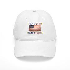 REAL MEN WEAR STRIPES Baseball Cap