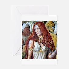 Boudica Greeting Card