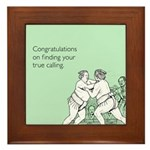 True Calling Framed Tile