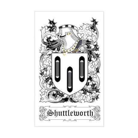 Shuttleworth Rectangle Sticker