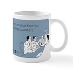 Trashing Coworkers Mug
