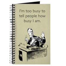 Too Busy Journal