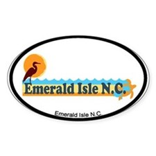 Emerald Isle NC - Beach Design Decal