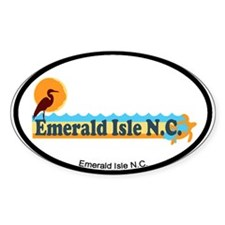 Emerald Isle NC - Beach Design Decal