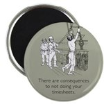 Consequences Timesheets Magnet