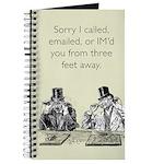 Three Feet Away Journal