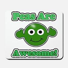Peas are Awesome 2 Mousepad
