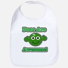 Peas are Awesome 2 Bib