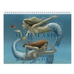 Covered Mermaids Wall Calendar