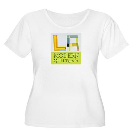 LAMQG Women's Plus Size Scoop Neck T-Shirt