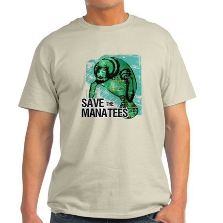 Save the Manatees Light T-Shirt