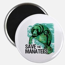 Save the Manatees Magnet