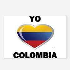 YO AMO COLOMBIA Postcards (Package of 8)