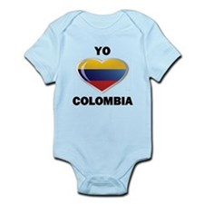YO AMO COLOMBIA Infant Bodysuit