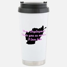 love/hate afgan Stainless Steel Travel Mug