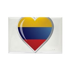 CORAZON COLOMBIA Rectangle Magnet