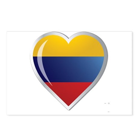 CORAZON COLOMBIA Postcards (Package of 8)