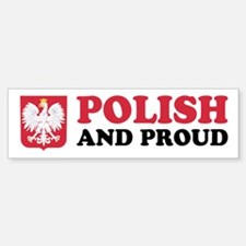 Polish and Proud Car Car Sticker