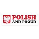 Polish and Proud Sticker (Bumper)