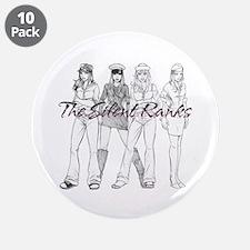 "Silent Ranks Logo 3.5"" Button (10 pack)"