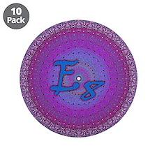 "E8 Lie Blue 3.5"" Button (10 pack)"