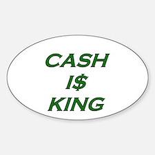 Cute Debt Sticker (Oval)