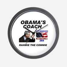 RAHMIE THE COMMIE Wall Clock
