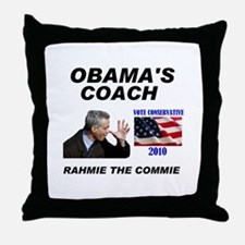 RAHMIE THE COMMIE Throw Pillow