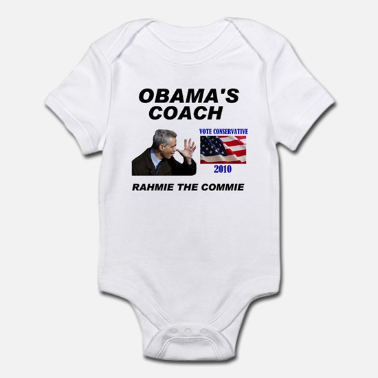 RAHMIE THE COMMIE Infant Bodysuit