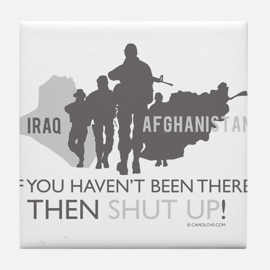 Iraq - Afghanistan Tile Coaster