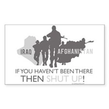 Iraq - Afghanistan Decal