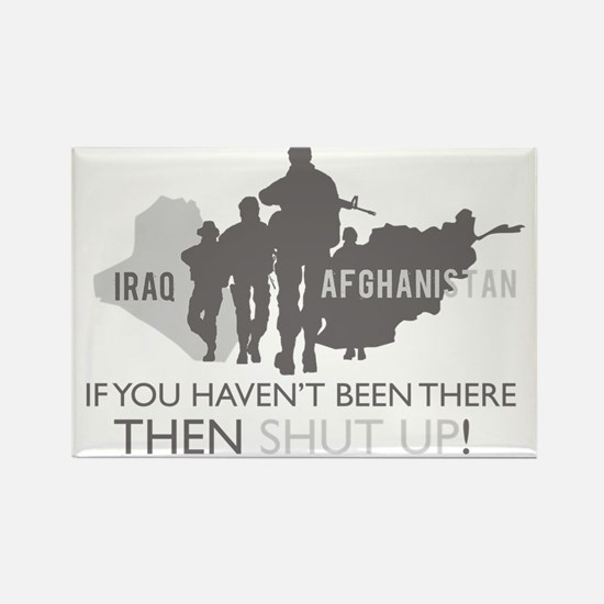 Iraq - Afghanistan Rectangle Magnet (10 pack)