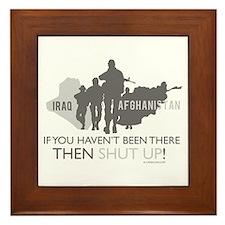 Iraq - Afghanistan Framed Tile