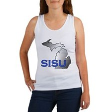 Cute Sisu Women's Tank Top