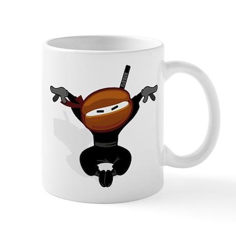Ninja Barista Jumping Mug