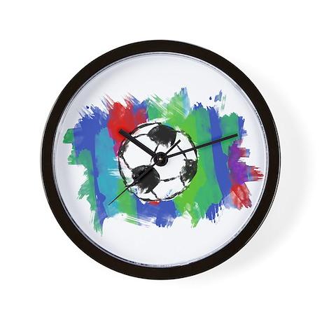 Soccer Fan Wall Clock