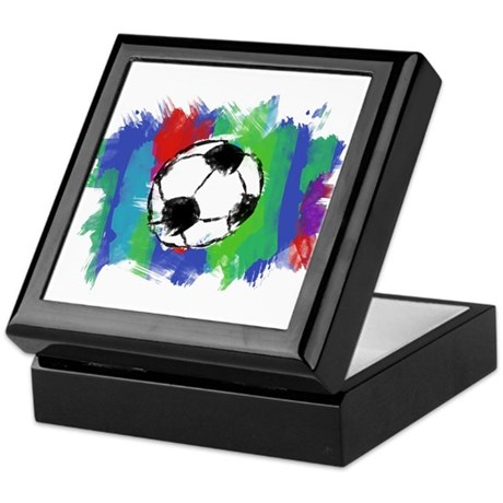 Soccer Fan Keepsake Box