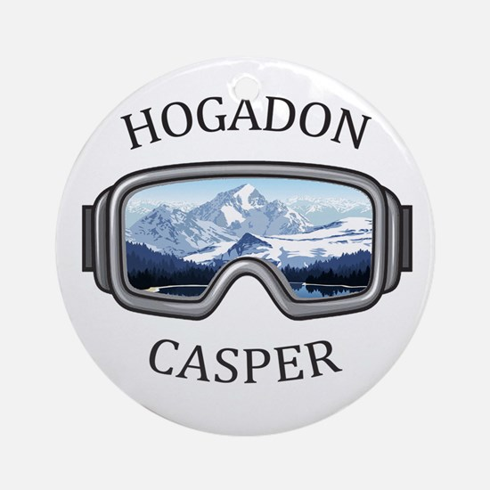 Hogadon - Casper - Wyoming Round Ornament