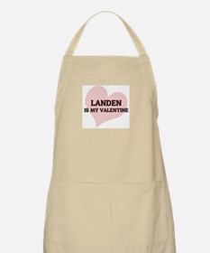 Landen Is My Valentine BBQ Apron