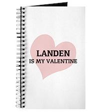 Landen Is My Valentine Journal