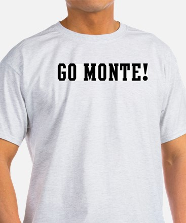 Go Monte Ash Grey T-Shirt