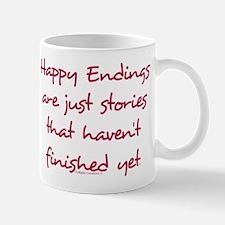 Happy Endings Finished Mug