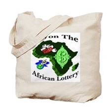 I Won The African Lottery Tote Bag