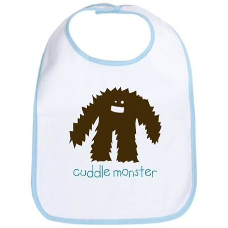 Cuddle Monster Bib