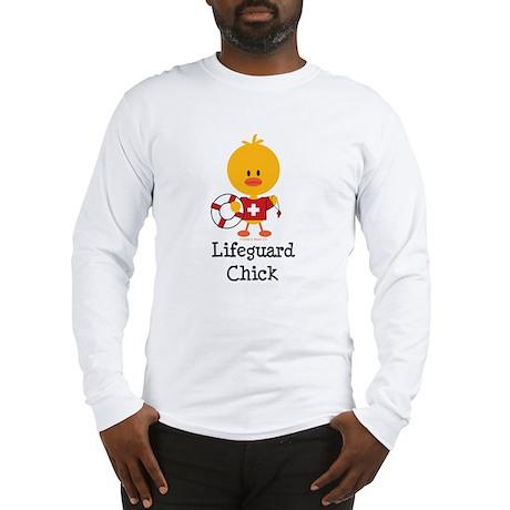 Lifeguard Chick Long Sleeve T-Shirt