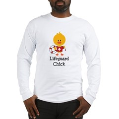 Lifeguard Chick Long Sleeve T-Shirt