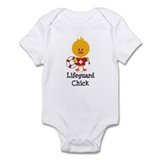 Lifeguard Chick Infant Bodysuit