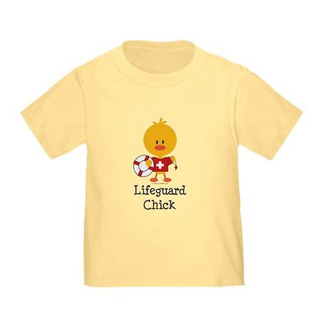 Lifeguard Chick Toddler T-Shirt
