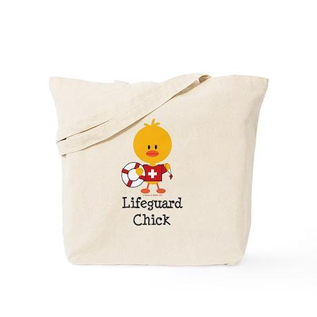 Lifeguard Chick Tote Bag