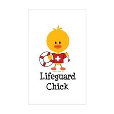 Lifeguard Chick Decal